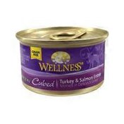 Wellness Morsels Turkey & Salmon Entree Cubes In Rich Gravy Healthy Food For Adult Cats