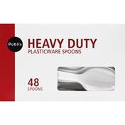 Publix Spoons, Plasticware, Heavy Duty