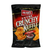 Herr's Extra Crunchy Kettle Cooked Potato Chips Chipotle