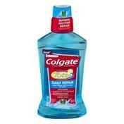 Colgate Total Flouride Mouthwash Daily Repair Fresh Mint