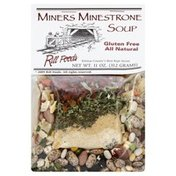 Rill Foods Soup, Miners Minestrone, All Natural, Gluten Free, Bag