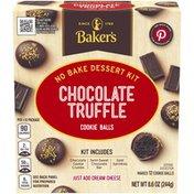 Baker'S Chocolate Truffle Cookie Balls No Bake Dessert Kit