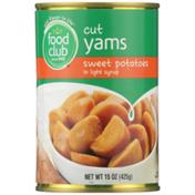 Food Club Cut Yams Sweet Potatoes In Light Syrup