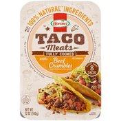 Hormel Taco Meats Seasoned Beef Crumbles