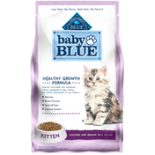 Blue Buffalo Baby BLUE Healthy Growth Formula Natural Kitten Dry Cat Food, Chicken and Brown Rice Recipe