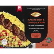 Mosul Kubba Ground Beef & Lamb Kabob