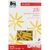 Food Lion Pasta, Ziti, Classic, Box