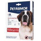 PetArmor Flea Treatment, For Dogs, Extra Large