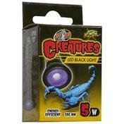 Zoo Med 5 Watt Creatures LED Black Light