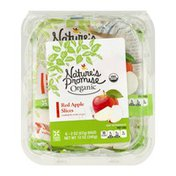 Nature's Promise Organic Red Apple Slices - 6 CT