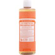 Dr. Bronner's Liquid Soap, Pure-Castile, Tea Tree