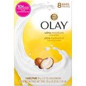 Olay Moisture Outlast Ultra Moisture Shea Butter Beauty Bar 90 g, 8 count