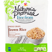Nature's Promise Brown Rice, Whole Grain