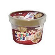 Kemps Birthday Cake Flavored Ice Cream Singles