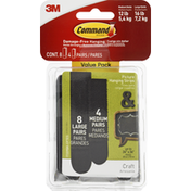 3M Command Picture Hanging Strips, Value Pack
