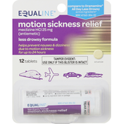 Equaline Motion Sickness Relief, Tablets