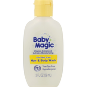 Baby Magic Hair & Body Wash, Soft Baby Scent