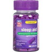 Rite Aid 25mg Sleep Aid Caplets