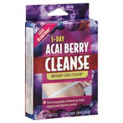 Applied Nutrition Acai Berry Cleanse, 5-Day, Tablets
