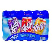 Faygo Variety Pack Cans