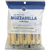 Publix String Cheese, Reduced Fat, Part-Skim, Mozzarella, Low-Moisture