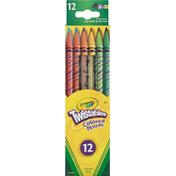Crayola Colored Pencils, Nontoxic, 3+