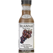 Brianna's New American Creamy Balsamic Dressing