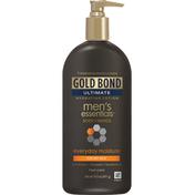 Gold Bond Lotion, Hydrating, Fresh Scent, Everyday Moisture, Men's Essential