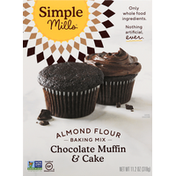 Simple Mills Chocolate Muffin & Cake Almond Flour Baking Mix