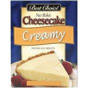 Best Choice No Bake Cheesecake