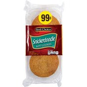 Best Choice Snickerdoodle Soft Cookies