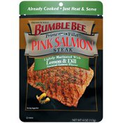 Bumble Bee Pink Steak Fillet Lightly Marinated W/Lemon & Dill Salmon