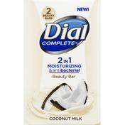 Dial Beauty Bar, Coconut Milk