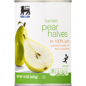 Food Lion Pear Halves, Bartlett