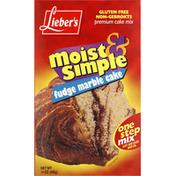 Lieber's Cake Mix, Premium, Fudge Marble Cake