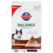 Hill's Science Diet Cat Food, Dry, Adult, 1-6 Years, Chicken & Brown Rice Dinner