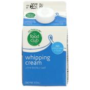 Food Club Whipping Cream