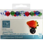 TrendWare Jewel Picks, 2.875 Inch