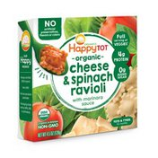 Happy Tot Cheese & Spinach Ravioli with Marinara Sauce