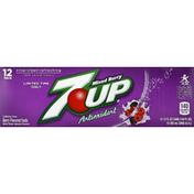 7-up Soda, Mixed Berry