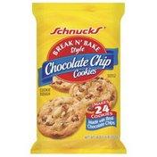 Schnucks Break N' Bake Style Chocolate Chip Cookie Dough