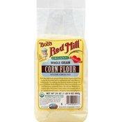 Bob's Red Mill Corn Flour, Whole Grain, Stone Ground