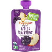 Happy Family Apple and Blackberry Yogurt Pouch