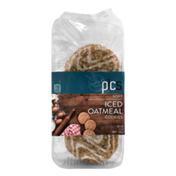 PICS Iced Oatmeal Cookies