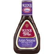 Ken's Steak House Dressing & Marinade, Asian Sesame