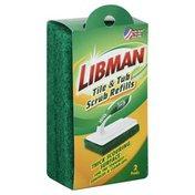 Libman Scrub Refills, Tile & Tub