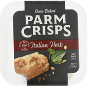 ParmCrisps Cheese, Italian Herb, Oven-Baked
