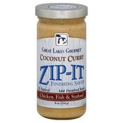 Zip It Finishing Sauce, Coconut Curry