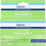 Equaline Miconazole-3, 3-Day Treatment