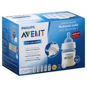 Avent Bottle, Anti-Colic, 0 Months+, 4 Ounce